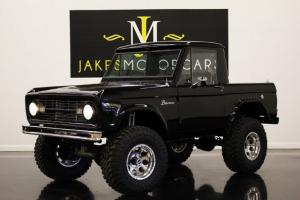 1967 FORD BRONCO HALFCAB, GROUND UP BUILD, 2-OWNER CALIFORNIA CAR, ONE-OF-A-KIND