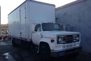 5 Ton Grip/Electric GMC Truck - Runs good -- Excellent lift gate and Grip Cage