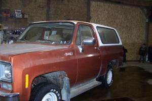 1978 All Original Chevrolet GMC Jimmy-Station Wagon 4X4 Copper Color Low Millage