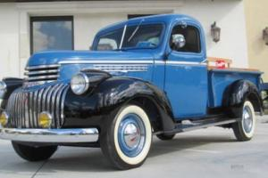 Stunning Frame Off Restored 1941 Chevy 1/2 Ton Model AK Pickup -Matching Numbers