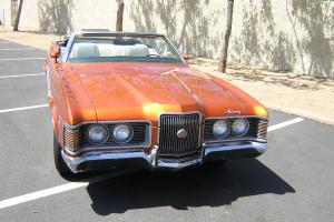 Beautiful 1971 Mercury Cougar XR-7 Convertible
