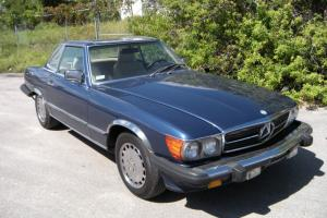 1988 Mercedes Benz 560SL Rust Free Matching Numbers R107 560 SL Blue Photo