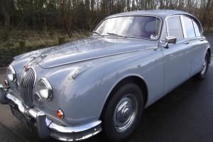 1962 JAGUAR MK II GREY 3.4 AUTOMATIC 1962