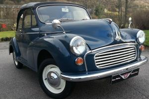 Morris minor convertible,Morris Tourer Immaculate condition,Drives exceptionally