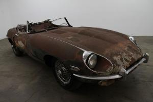 1970 Jaguar XKE Roadster, Series II, matching #'s, manual. wire wheels