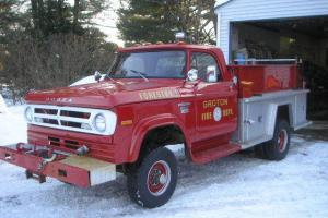 1971 DODGE W300 POWER WAGON 11K MILES ONE OWNER WINCH
