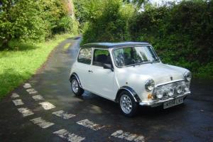 1995 ROVER MINI SPRITE WHITE
