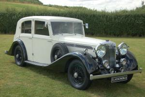 Daimler Straight Eight Saloon Freestone and Webb Photo