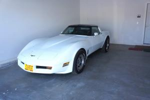 1981 Chevrolet Corvette White T-Tops All Original NICE Numbers Matching
