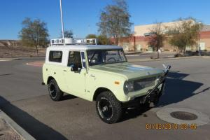 NO RESERVE 1969 SCOUT 800A V8 NUMBERS MATCHING RUST FREE 4X4 ALL ORIGINAL RUNS