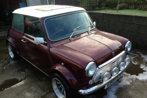 1990 AUSTIN MINI THIRTY RED