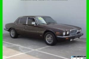 1985 JAGUAR XJ6 ONLY 51K MILES*LEATHER*CLEAN CARFAX*COLD A/C*CLASSIC Photo