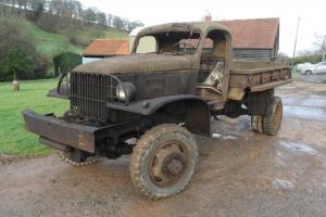 CHEVROLET G506 CARGO TRUCK WITH WINCH BARN FIND FOR FULL RESTORATION