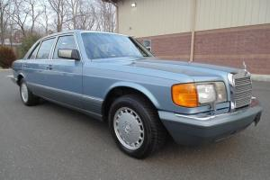 1986 Mercedes Benz 420 SEL 43k Miles Diamond Blue Collector Quality MUST SEE !!!