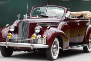 1940 PACKARD 120 CONVERTIBLE 4 DOOR STRAIGHT EIGHT COLLECTOR CAR