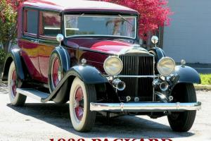 1932 Packard 902 Club Sedan Standard Eight Low Miles Hollwood Restored 506 32