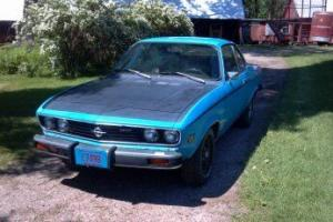 1974 Opel Manta Base Coupe 2-Door 1.9L Rare