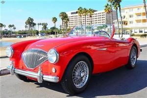 1954 Austin Healey, 100/4, BN1, fantastic condition, Chrome wire wheels