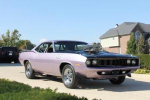 71 Plymouth Cuda ProStreet Top of the Line Gorgeous WOW