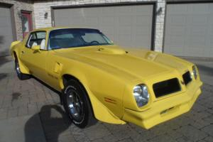 1976 TRANS AM / YELLOW -W - WHITE INTERIOR / 74,442 MILES, VERY NICE!