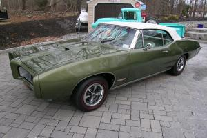 1968 GTO CONVERTIBLE SHOW CAR ,AACA, 400/350HP/HIS HER/ROTISSERIE RESTORED