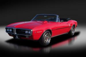 1967 Pontiac Fierbird Convertible H.O. 4-speed. Very Rare. Matching Numbers. WOW