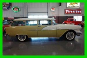 1956 PONTIAC CHIEFTAIN  860 SPCL 2 DOOR STATION WAGON~BEAUTIFUL RESTORATION!