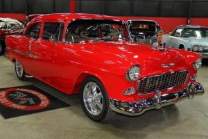 55 Chevy Frame off Restored Loaded Show Car 210 WOW 4 Wheel Disc A/C