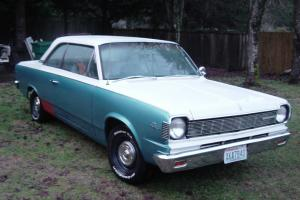 1967 amc rambler american rogue rust free v/8 290 w/floor shift automatic