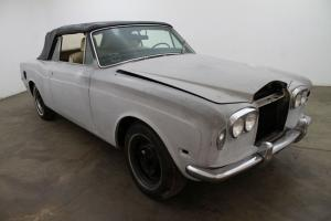 1973 Rolls-Royce Corniche Convertible,left hand drive,desirable steel bumper car Photo
