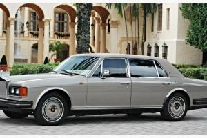SILVER SPUR CLEAN HIST. SERVICE RECORDS GARAGED KEPT MINT CONDITION ROLLS ROYCE