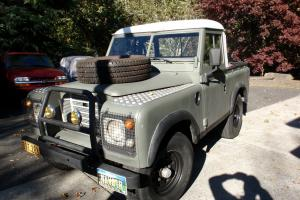 1974 Land Rover Series 3 upgraded ignition system, upgraded weber carb