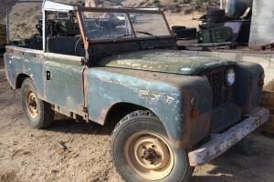 Land Rover series 2A 88. Photo