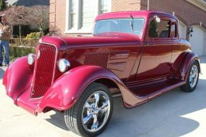 1934 Plymouth Coupe Steel Street ROD GORGEOUS Custom
