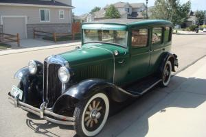 1931 Chrysler Six Sedan - RARE ANTIQUE VINTAGE AUTO