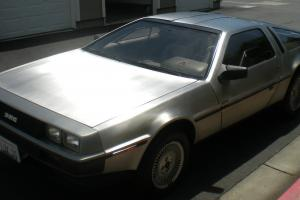 1981 DELOREAN LOW MILES  RUNS GREAT