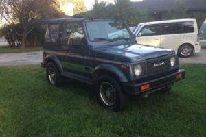 1987 Suzuki Samurai JX 4X4 NO RUST!California car All original Safari Windshield