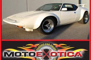 1973 DE TOMASO PANTERA-GROUND-UP RESTORATION-HALL PANTERA GTS KIT-ANSA EXHAUST