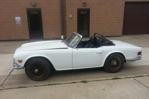 RARE Early Production Triumph TR-6 1969