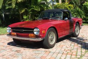 1970 TRIUMPH TR 6 - A very Desirable Year - 1970 - Photo