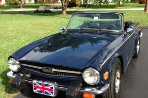 Triumph TR6 Roadster Photo