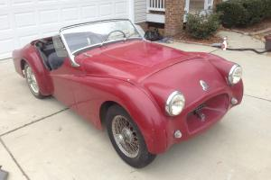 1955 Triumph TR2 Photo