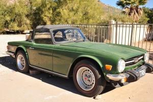 1975 Triumph TR6 Project Car Photo