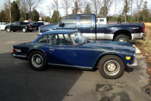 1974 Triumph TR6 TR-6 HARDTOP w/ Overdrive & FACTORY A/C!!! Photo