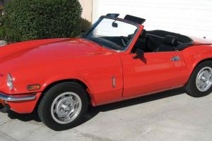 1978 Triumph Spitfire Hardtop/convertable Photo