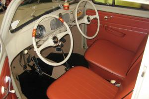 1955 VW Beetle Dual Control Drivers Ed Car - Two Cool!