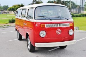 Frame off every nut bolt 1975 Volkswagen Type 2 Bus this is by far the best mint