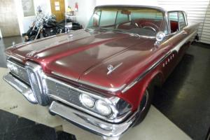 Classic 1959 Edsel Ranger, Two Tone, Chrome, Bench Seats,  Antique, Flared Trunk