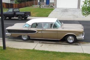 1958 Ford Edsel Corsair-  4 door Hardtop