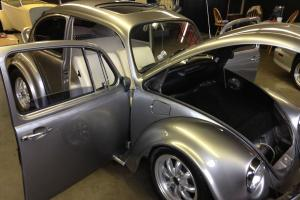 1968, Volkswagen Beetle, factory sunroof, super beetle, hot rod